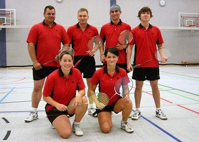 1. Mannschaft - Badminton