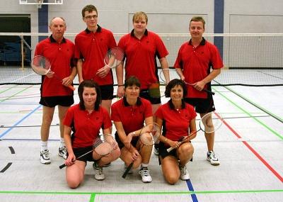 2. Mannschaft - Badminton